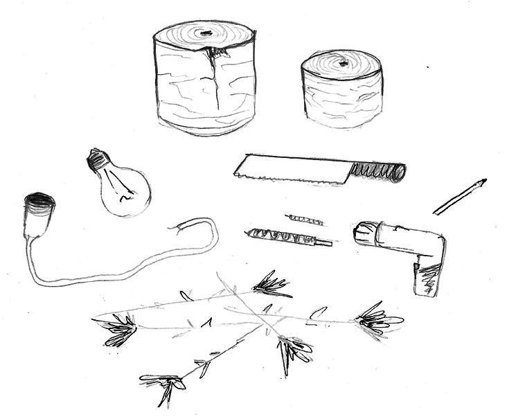 Anleitung - Wiesensteckleuchte Werkzeuge